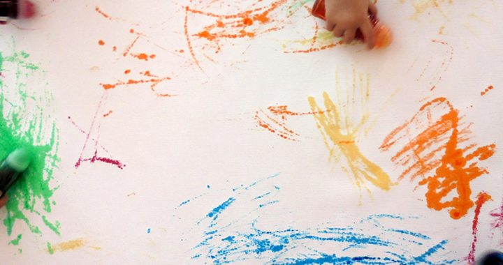 lebensbild kita dresden Kinder malen