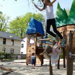 Villa für kinder Sprung von Holzburg