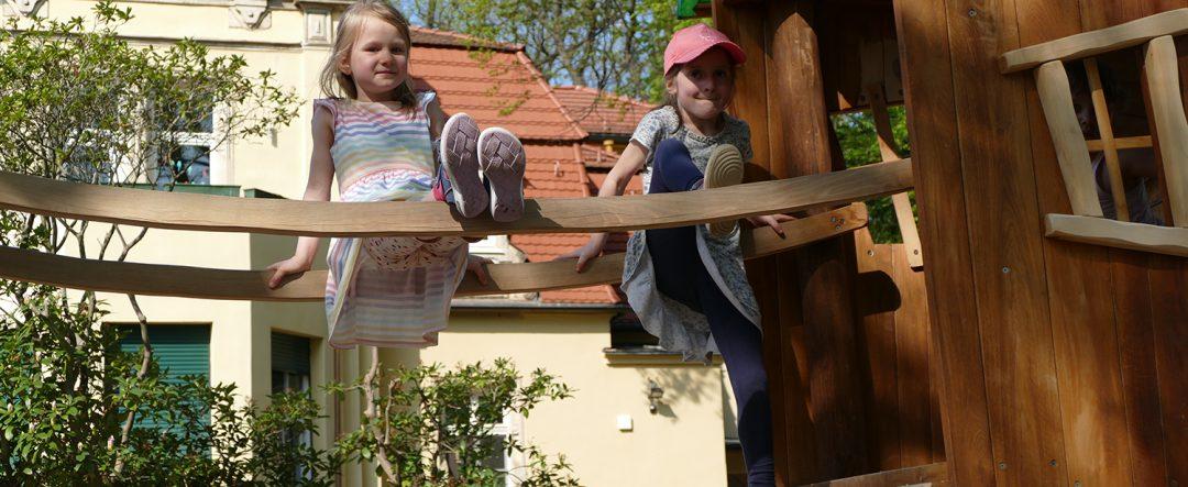 Kita Villa für Kinder Kletterhäuser